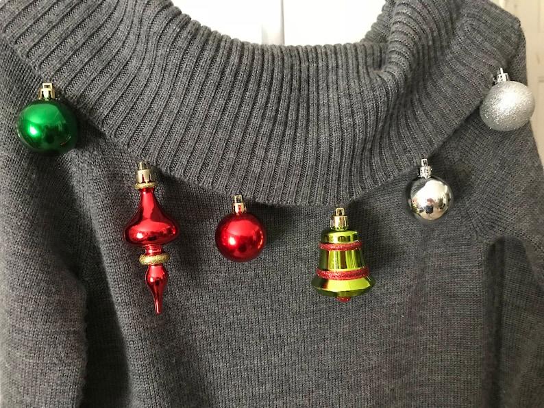 Tunic style Christmas Spirit sweater