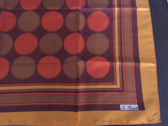 Vintage french La Redoute scarf