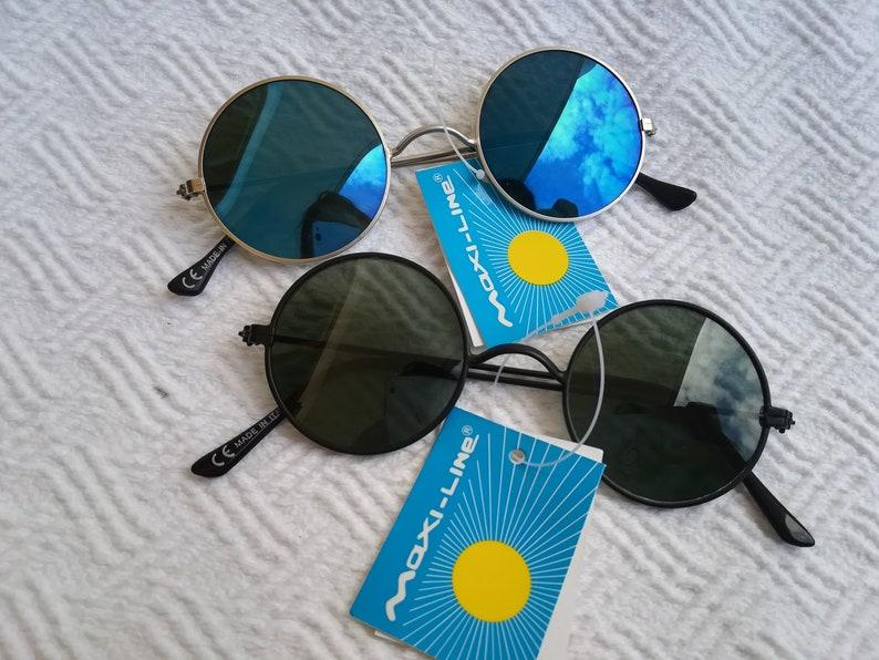 dfe0131a89b2 Maxi-Line Vintage sunglasses original Made in Italy 70s John | Etsy