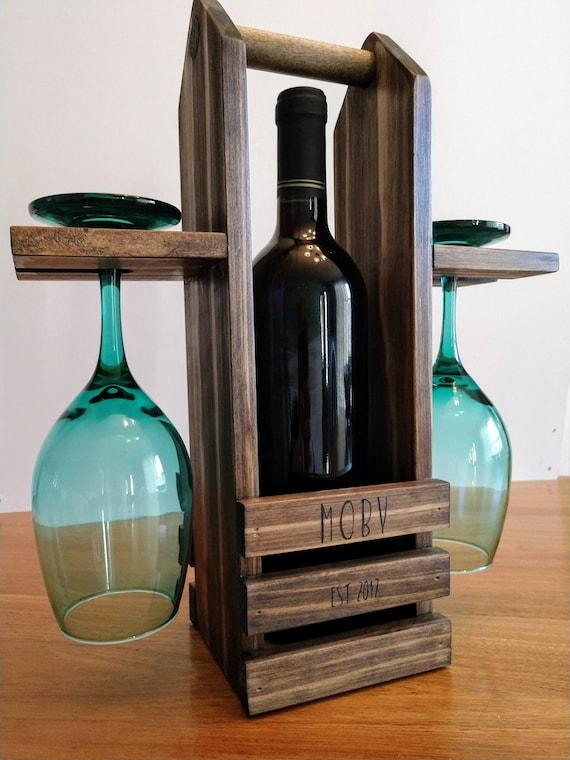 Wine Caddy Etsy