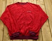 Vintage 1990s Chaps Fleece Sweatshirt 90s Ralph Lauren Sportswear 90s Crewneck Streetwear Athleisure
