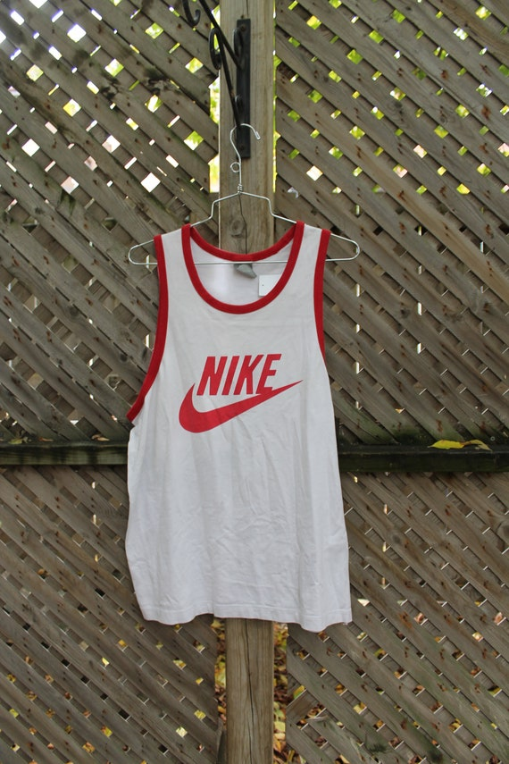 Vintage Nike / Nike Basketball Tank Top / Sportswe