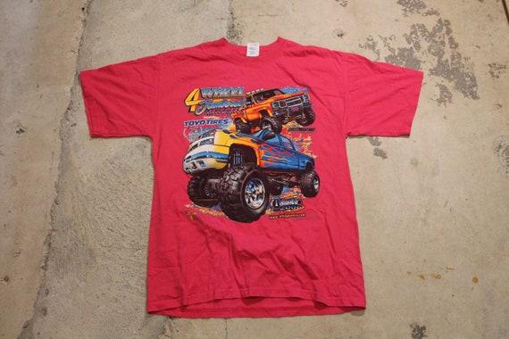 Vintage T-Shirt / Truck Graphic / 4 Wheel Jamboree