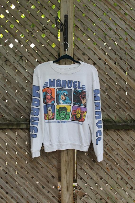 Vintage Marvel / Vintage Crewneck / Superhero / Ma