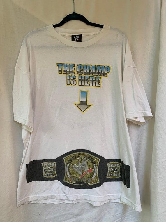 WWE T Shirt / World Wrestling Entertainment / Wres