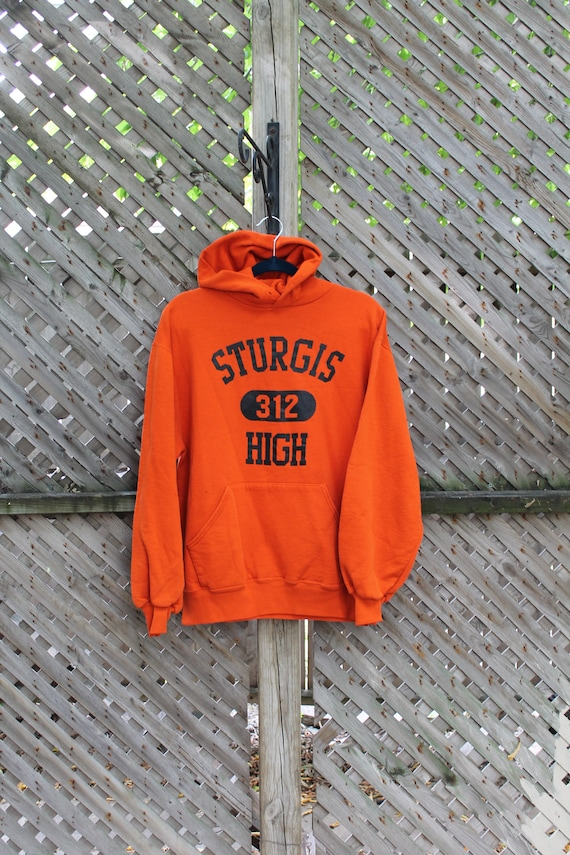 Sturgis High 312 / Vintage Sweater / Orange Varsit