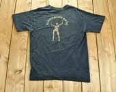 Vintage 1990s Righteous Babe quot Here Comes Naked Little Me quot T-Shirt 90s Streetwear Retro Style Single Stitch Anvil Made In USA