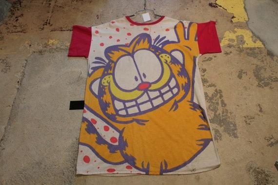Vintage T-Shirt / Nightgown / Nightshirt /Garfield