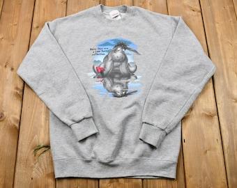 Vintage Eeyore Rainy Days Sweatshirt / Disney / Sportswear / Vintage Crewneck / Streetwear / Athleisure / Winnie the Pooh