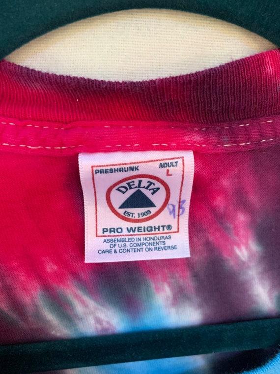 Tie Dye Eagle T-Shirt / Born Free / Allentown PA … - image 4