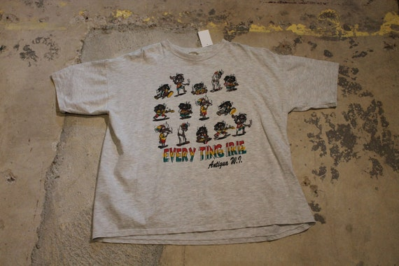 Vintage T-Shirt / Every Ting Ire Graphic / Smoking