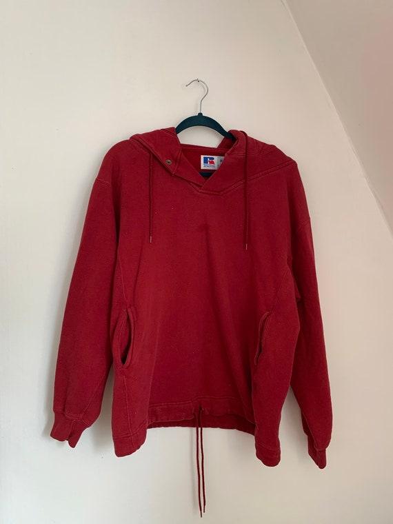 Russell Athletic Hoodie / Vintage Sweatshirt / Dra