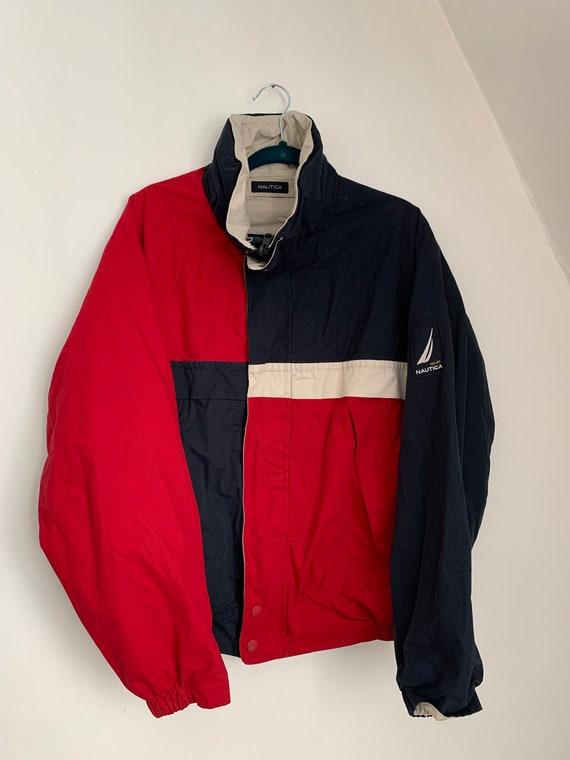 Nautica Jacket / Reversible Jacket / Hidden Hood /