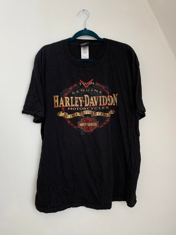 Harley Davidson T-Shirt / Motorcycle T-Shirt/ Bike