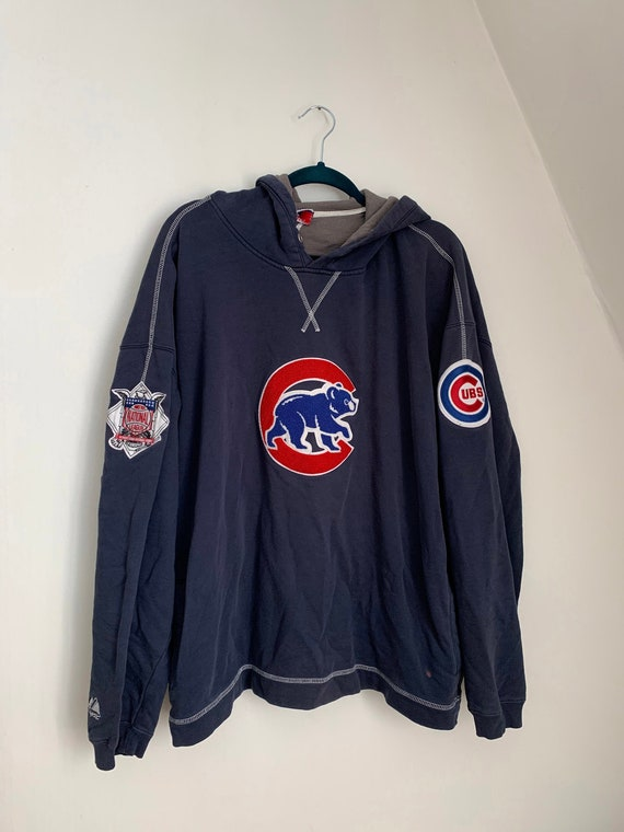 Chicago Cubs Hoodie / Vintage Cubs / Chicago Baseb