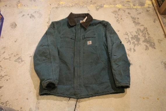 Vintage Carhartt / Full Zip Lined Workwear Jacket