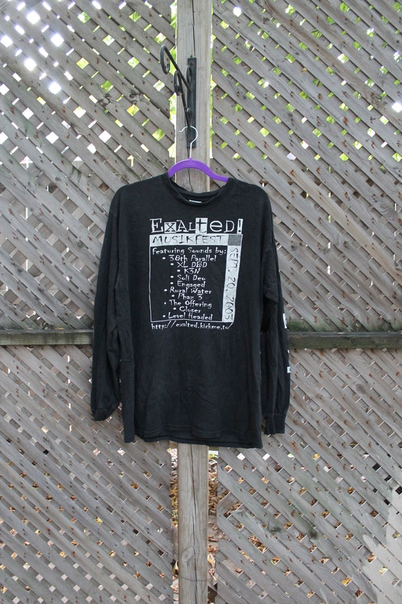 Festival T-Shirt / Vintage Graphic / Exalted Musik