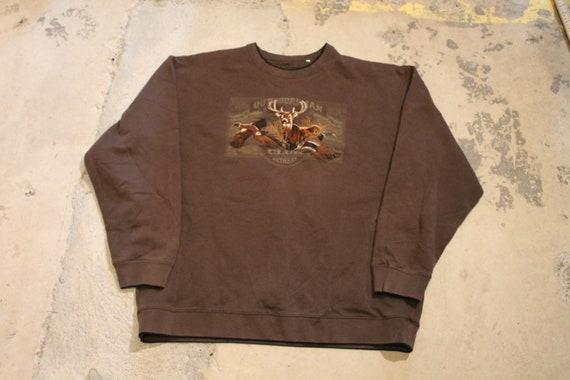 90s Crewneck / Vintage Outdoorsman Sweater / Anima