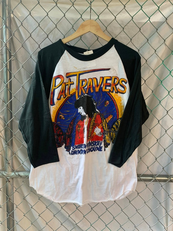 Pat Travers Raglan / Pat Travers Tour Shirt / Pat