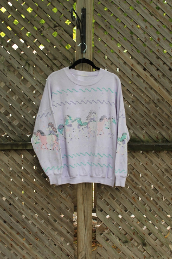 90s Crewneck / Vintage Crewneck / Animal Graphic /