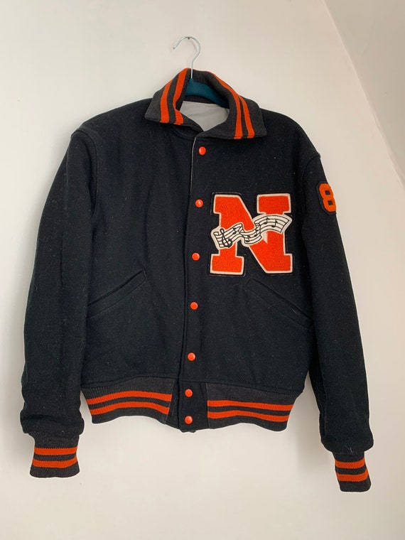 Vintage Letterman Jacket / vintage Patch / Reversi