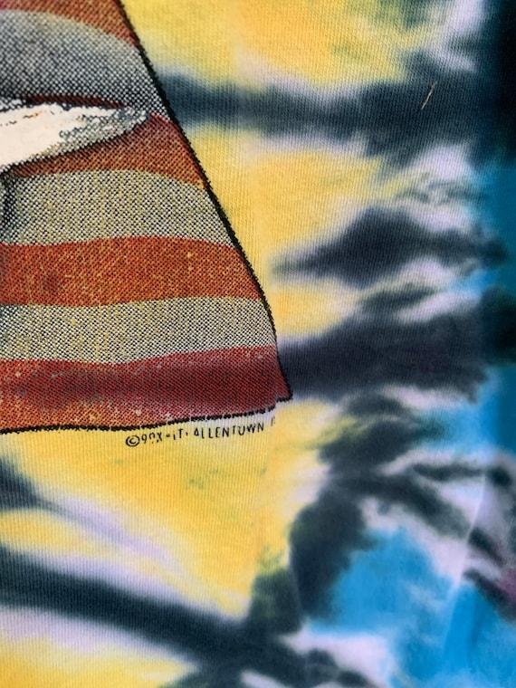 Tie Dye Eagle T-Shirt / Born Free / Allentown PA … - image 3