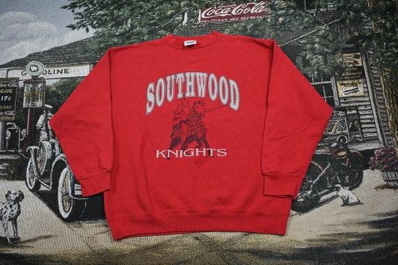 Southwood Knights Sportswear Graphic / 90s Crewnec