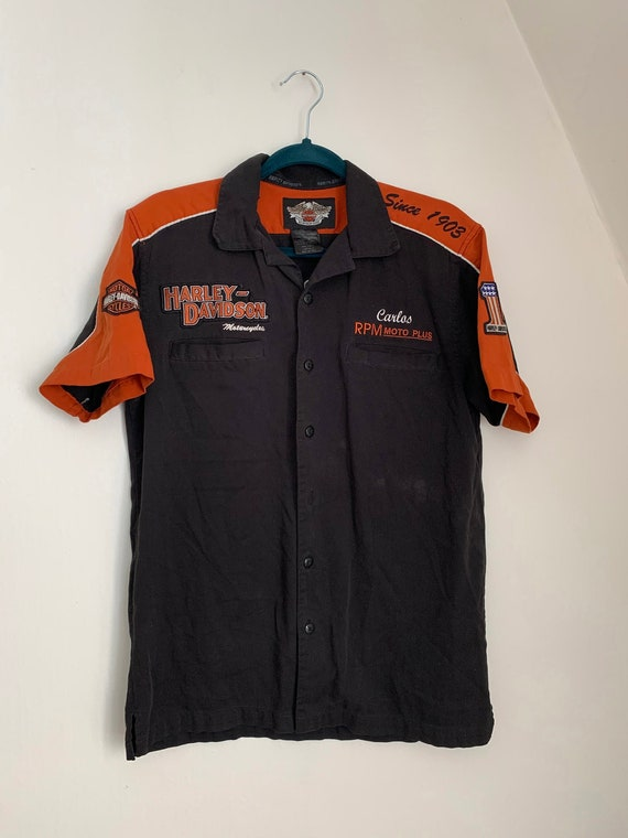 Harley Davidson Button Up / Harley Davidson Work S
