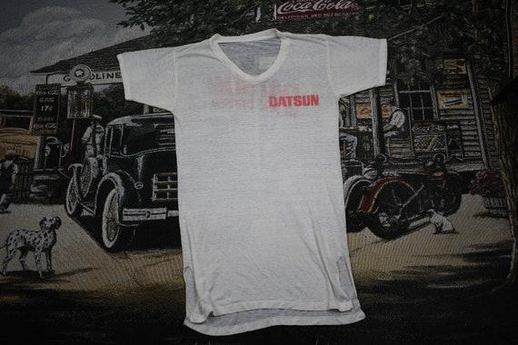 1980s Datsun We Are Driven T-shirt / Big Automotiv
