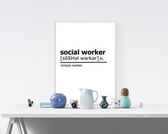 Social worker office   Etsy