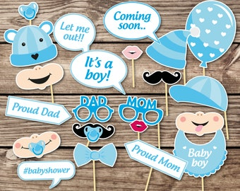 Baby Shower Props Etsy