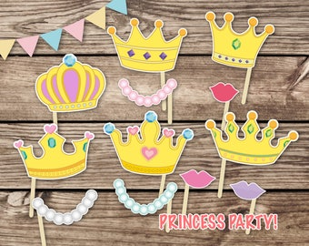 Disney Princess Prop Etsy
