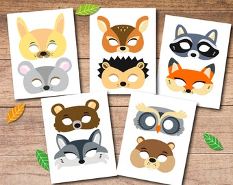 printable masks etsy