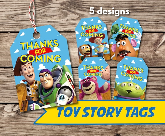 24 Jessie Toy Story Thank You Birthday Party Favor Tag Personalized