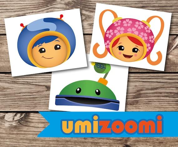 Umizoomi Photo Props Masks, Team Umizoomi Toddler Bedding