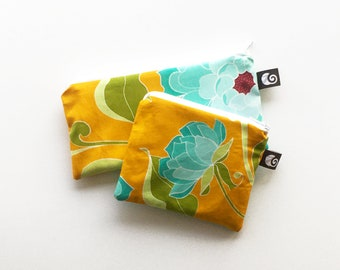 Reusable snack bags Reusable ziploc bags Made in Quebec Elle fabriq Environmently friendly Food bag Green lunch solution Fabric