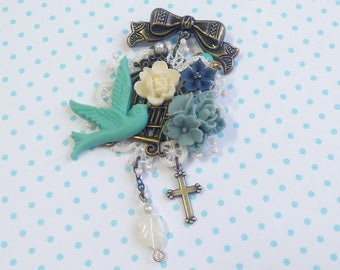 Bjd accessories brooch