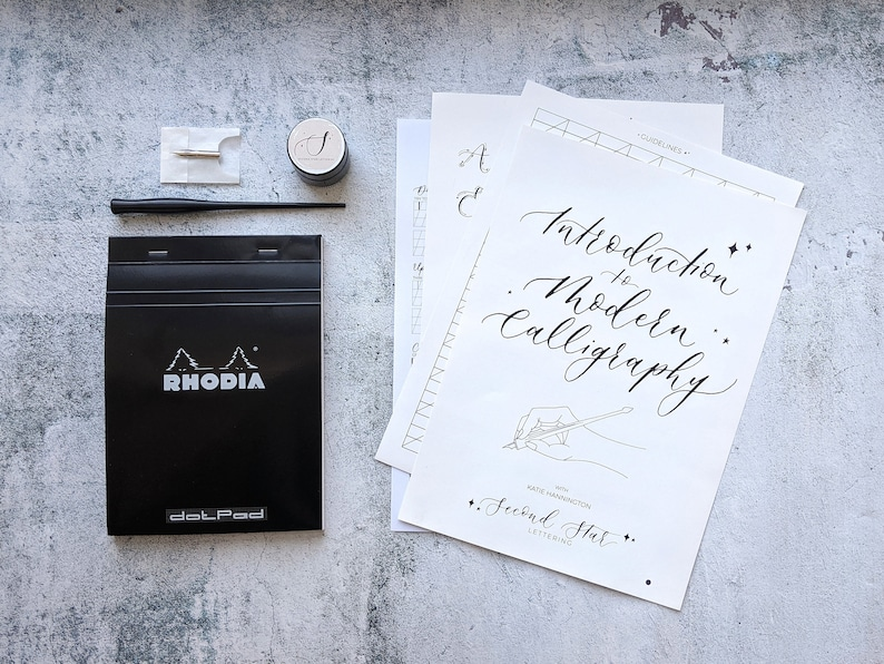 Modern Calligraphy Starter Kit  Beginner  Online Workshop  image 0