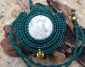 Howlite Macrame Necklace