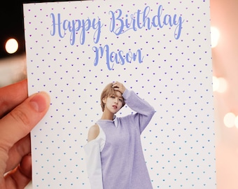 Personalised Jeongyeon (TWICE) Card
