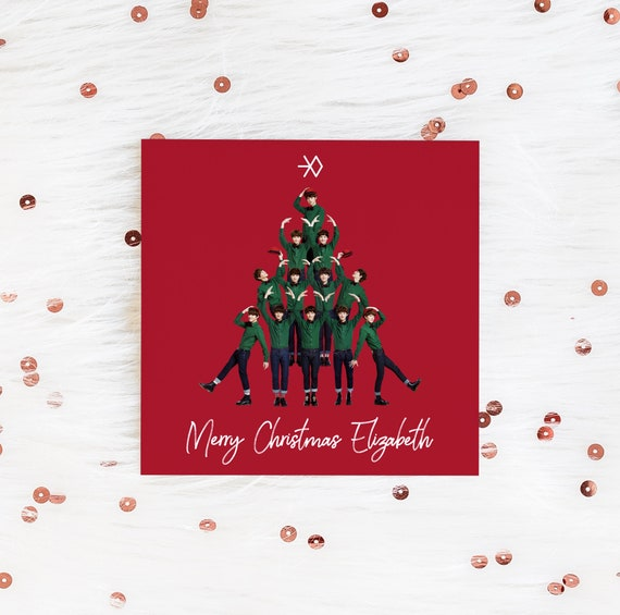 Exo Christmas Album Cover.Exo Christmas Card