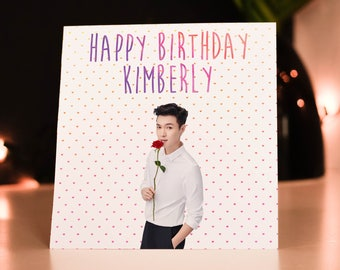 Personalised Lay (EXO) Card