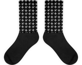 Turbo Pattern Socks