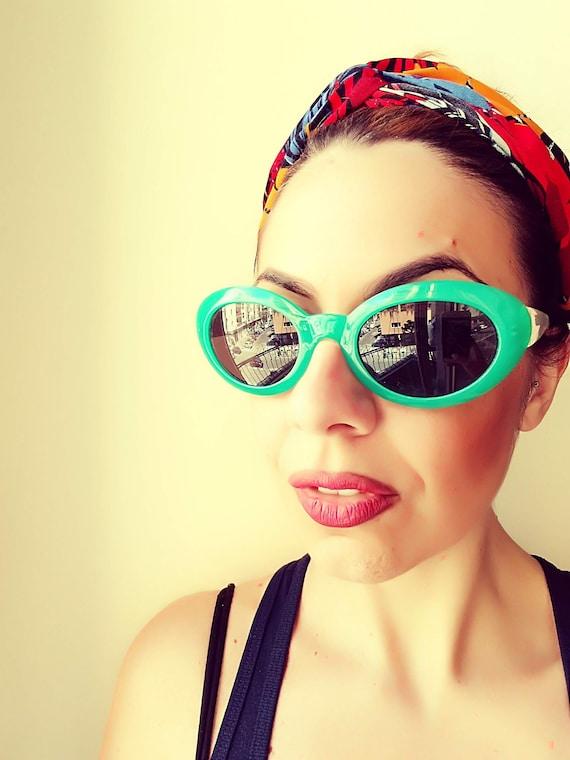 8deff6278b Lunettes de soleil femme ovale CAT Eye lunettes de soleil | Etsy