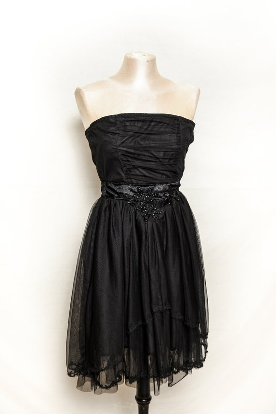 NAF NAF DRESS Vintage 90 Woman Mini-Dress Straples