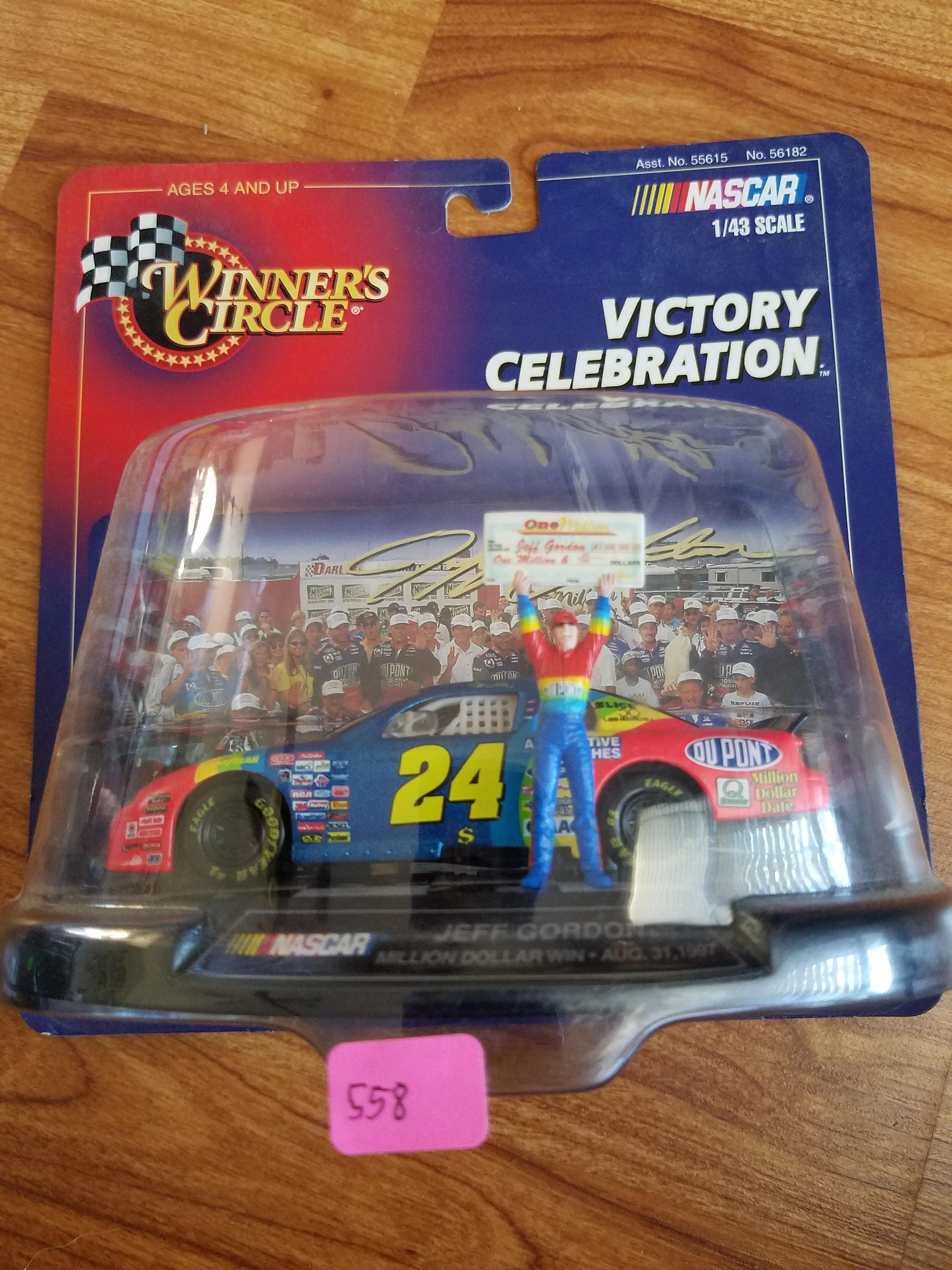 Jeff Gordon Victory Celebration million dollar win
