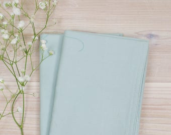 Light Blue Cloth Napkins