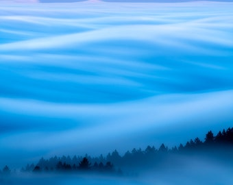 Tamalpais Fog Waves #2   San Francisco Bay Area, California