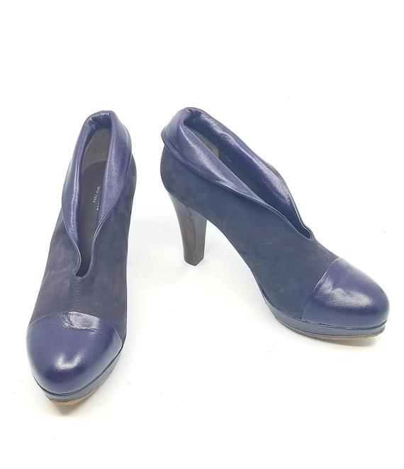 Vintage Giraudon Platform Booties,  Vintage Heels,