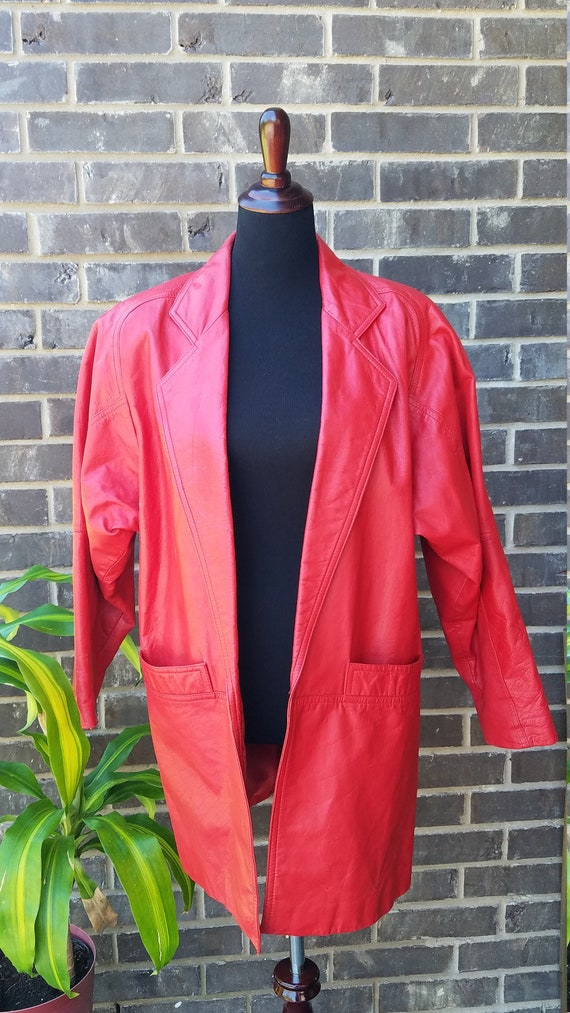 Toffs Leather Coat, Leather Coat, Designer Leather